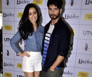 Shraddha, Shahid at Haider's music premier