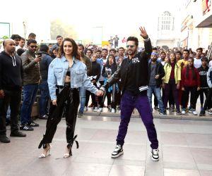 "Shraddha, Varun at song launch of their film ""Street Dancer 3D"""