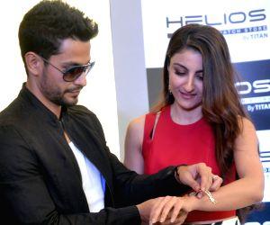 Inauguration of Helios flagship store - Soha Ali Khan and Kunal Khemu