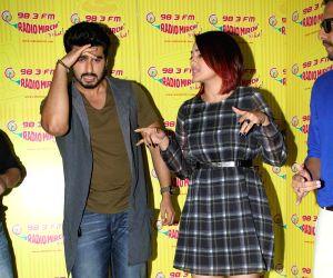 (111214) Mumbai: Promotion of film Tevar