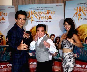 """Kung Fu Yoga"""" - promotion"""