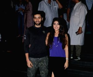 "Special screening of film ""Mulk""- Utkarsh Sharma and Ishita Chauhan"