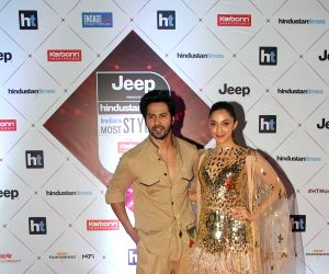 "HT India's Most Stylish Awards"" - Varun Dhawan and Kiara Advani"