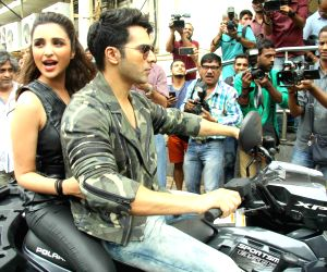 Launch of song Jaaneman Aah from film Dishoom