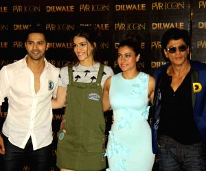 Song launch of upcoming film Dilwale