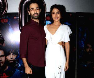 "Success party of film ""Stree"" - Varun Mitra and Rhea Chakraborty"