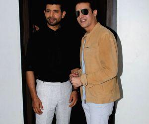 "Promotion of film ""Mukkabaaz"" - Vineet Kumar Singh and Jimmy Shergill"