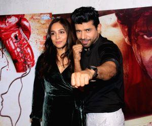 "Promotion of film ""Mukkabaaz"" - Vineet Kumar Singh and Zoya Hussain"