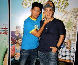 Promotions of the film 'Tu Hai Mera Sunday' - Vishal Malhotra, Ashwin Mushran