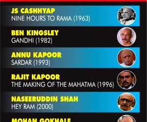10 times Mahatma Gandhi was brought alive on screen