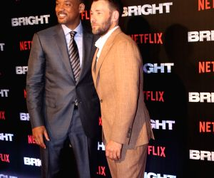"Special screening of film ""Bright"" - Will Smith and Joel Edgerton"