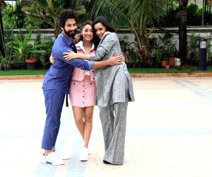 """Promotion of film """"Batti Gul Meter Chalu"""" - Yami Gautam, Shahid Kapoor and Shraddha Kapoor"""