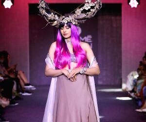 Lakme Fashion Week Winter/Festive 2019 - Adah Sharma