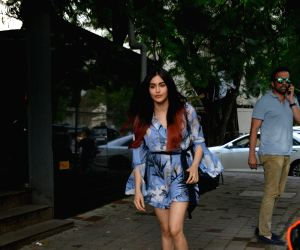 Adah Sharma seen at Mumbai's Khar