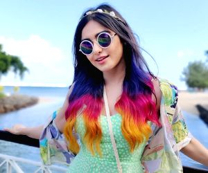 Adah Sharma flaunts three