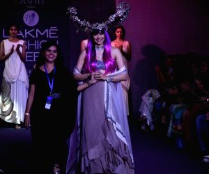 Lakme Fashion Week Winter/Festive 2019 - Adah Sharma walks for Pinkey Agarwal