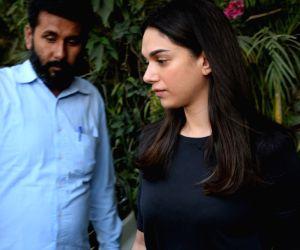 Aditi Rao Hydari seen at a health club