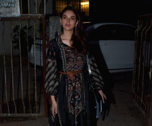 Aditi Rao Hydari seen at Juhu