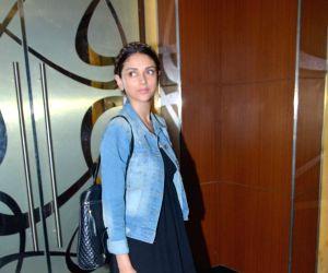 Aditi Rao Hydari spotted at PVR cinema