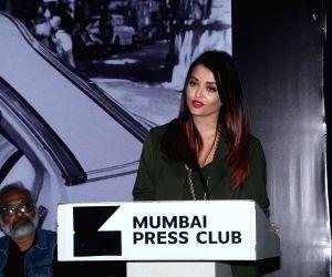 Actress Aishwarya Rai Bachchan at the launch of 'Mumbai Moments 2019' - a photography exhibition, in Mumbai on Jan 8, 2019.