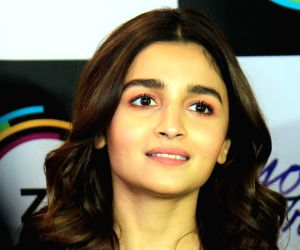 """Alia Bhatt at the screening of """"Yours Truly"""