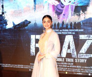 """Song launch of film """"Raazi"""" - Alia Bhatt"""
