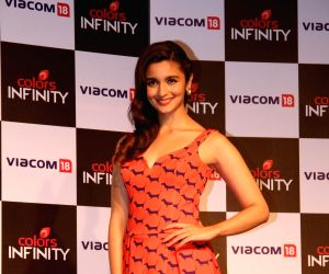 Karan, Alia launches Colors Infinity and Colors Infinity HD