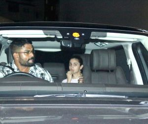 Alia Bhatt seen at a studio