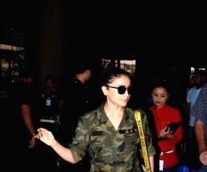 Alia Bhatt seen at airport