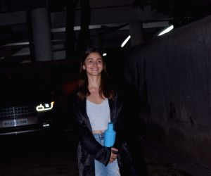 Alia Bhatt seen at Sanjay Leela Bhansali's office