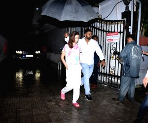 Alia Bhatt seen at Dharma Productions office