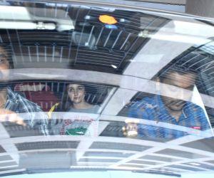 Alia Bhatt spotted at Katrina Kaif's house