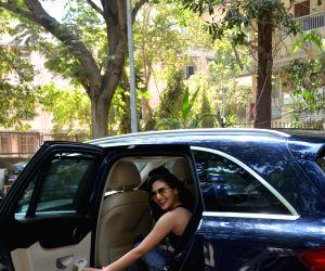 Amayra Dastur seen a gym