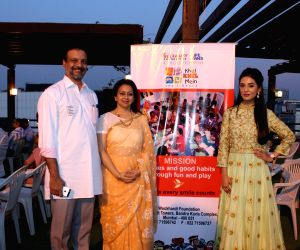 Amrita Rao attends annual event of Khel Khel Mein
