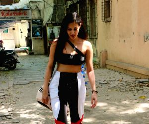 Amyra Dastur seen at Dance Academy