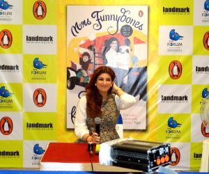 Book reading session - Funnybones - Twinkle Khanna
