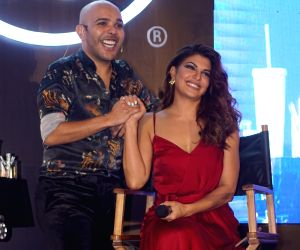 Make-up master class - Jacqueline Fernandez and Shaan Muttathil