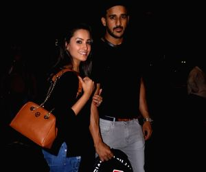 Anita Hassanandani and Rohit Reddy spotted at airport