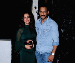 Pearl V Puri's birthday celebration - Anita Hassanandani and Rohit Reddy