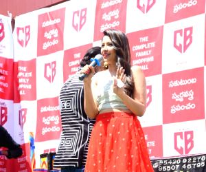 Anupama Parameshwaran launches Chandana Brothers Shopping Mall