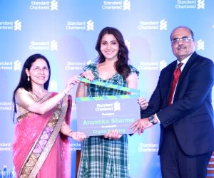 Anushka Sharma announced as Standard Chartered Bank's brand ambassador