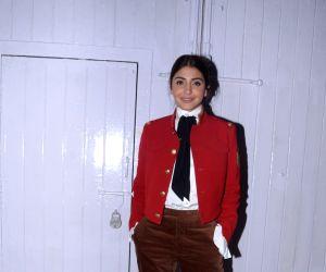 Anushka Sharma seen at Mehboob Studio