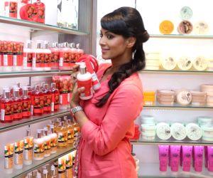 Barkha Bisht during a programme