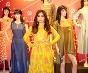 Bhumi Pednekar at the launch of clothing brand