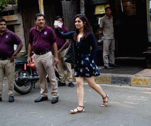 Bhumi Pednekar seen at a restaurant