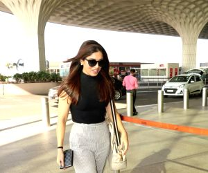 Bhumi Pednekar seen at airport