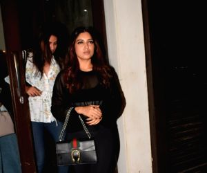 Bhumi Pednekar seen at Mumbai's Bandra