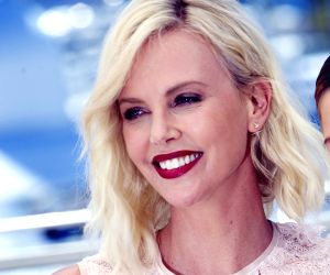 Charlize Theron enjoys sushi outing