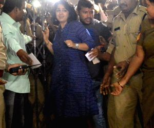 Charmy Kaur appears before SIT in drug case
