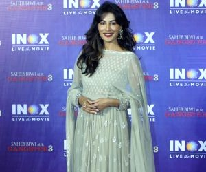 "Promotion of film ""Saheb Biwi Aur Gangster"" - Chitrangada Singh"